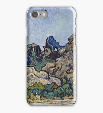 Vincent Van Gogh - French  Landscape. Saint-Remy  iPhone Case/Skin