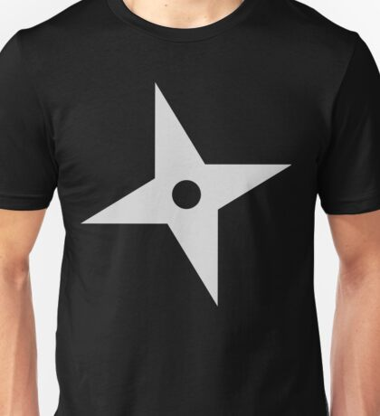 Shuriken Ninja Star Unisex T-Shirt