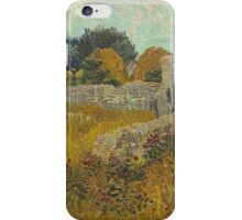 Vincent Van Gogh - Farmhouse In Provence  iPhone Case/Skin