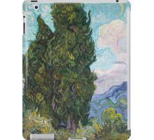 Vincent Van Gogh - Cypresses .  Van Gogh - Cypresses  iPad Case/Skin