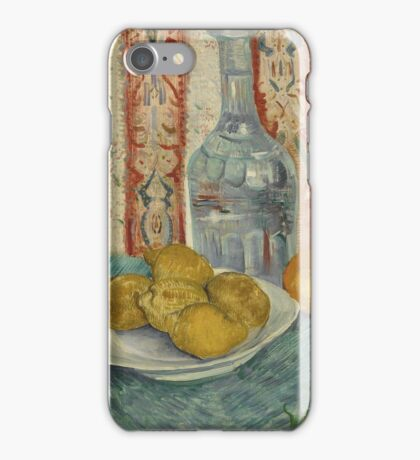 Vincent Van Gogh - Carafe And Dish With Citrus Fruit .  Van Gogh - Still Life  iPhone Case/Skin