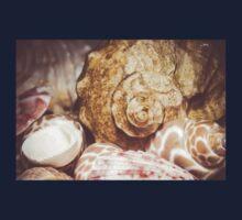 Seashell Background Macro 2 Kids Tee