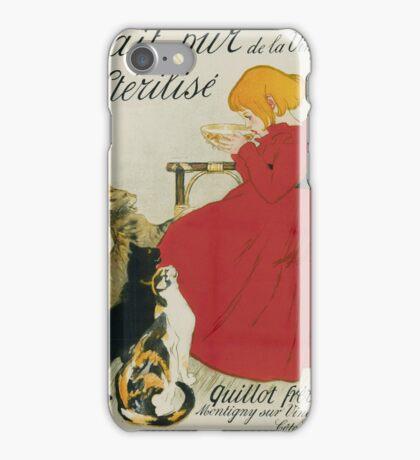 Theophile Alexandre Steinlen - Lait Pur Sterilise De La Vingeanne iPhone Case/Skin