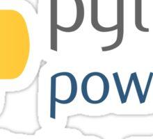 Python powered Sticker