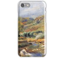 Renoir Auguste - The Washerwoman iPhone Case/Skin