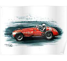 1951 Ferrari 375 F1 Poster