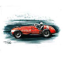 1951 Ferrari 375 F1 Photographic Print