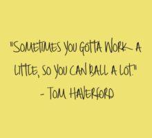Tom Haverford Kids Tee