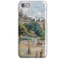 Renoir Auguste - Place De La Trinite iPhone Case/Skin