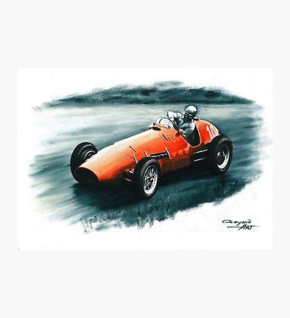 1952 Ferrari 500 F2 Photographic Print