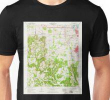 USGS TOPO Map Alabama AL Trinity 305244 1963 24000 Unisex T-Shirt