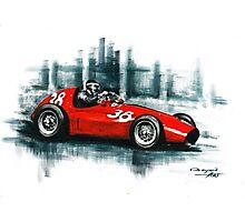 1954 Ferrari 553 Squalo Photographic Print