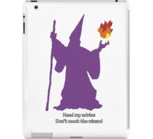 Don't mock the wizard iPad Case/Skin