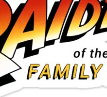 Raiders of The Family Fridge Sticker
