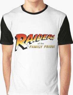 Raiders of The Family Fridge Graphic T-Shirt