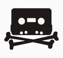 Pirate music tape Kids Tee