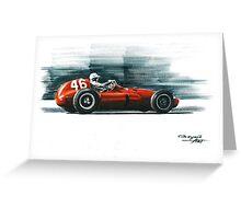 1955 Ferrari 555 Supersqualo Greeting Card
