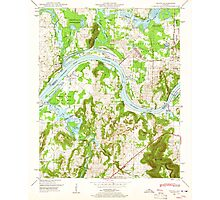 USGS TOPO Map Alabama AL Triana 305234 1948 24000 Photographic Print