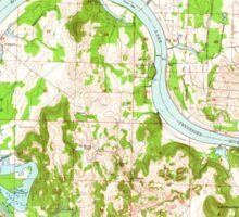 USGS TOPO Map Alabama AL Triana 305234 1948 24000 Sticker
