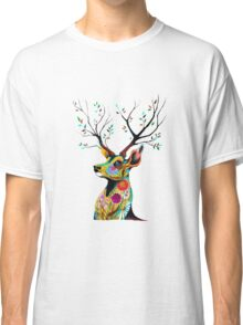 Deer Flower Classic T-Shirt