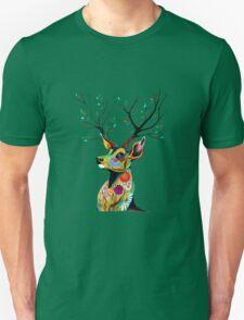 Deer Flower Unisex T-Shirt