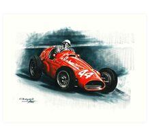 1955 Ferrari 625 F1 Art Print