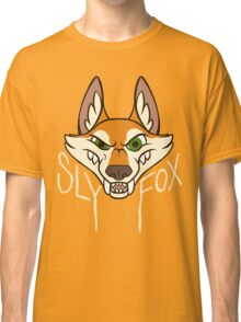 Sly Fox - Light Text Classic T-Shirt