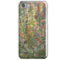 Otto Stark - Hollyhocks  iPhone Case/Skin