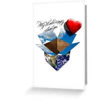 My World is Empty Without You Greeting Card