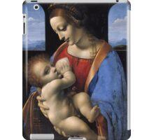 Leonardo Da Vinci - Madonna Litta Madonna And The Child iPad Case/Skin