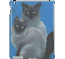 a couple of Siamese cats iPad Case/Skin