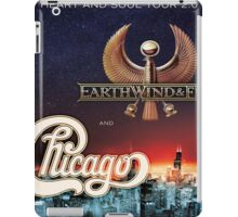 EARTHWIND&FIRE AND CHICAGO iPad Case/Skin