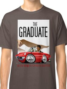 Alfa Romeo Duetto caricature from the Graduate Classic T-Shirt