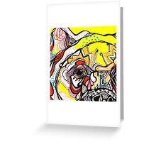 bears eye Greeting Card