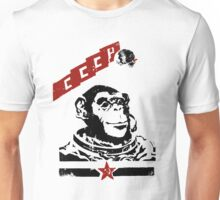 Soviet Space Monkey Unisex T-Shirt