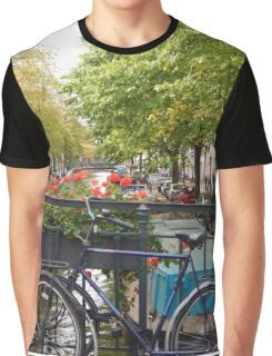 A walk through Amsterdam Graphic T-Shirt
