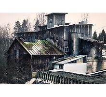Old abandoned mill Photographic Print