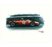 1962  Ferrari 156 F1 sharknose Art Print