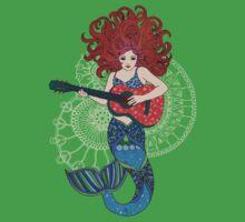 Musical Mermaid Kids Tee