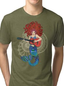 Musical Mermaid Tri-blend T-Shirt