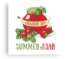Summer in the jar Canvas Print