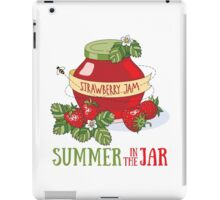 Summer in the jar iPad Case/Skin