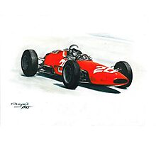 1963  Ferrari 156 F1 Aero Photographic Print