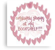 bookshelf porn <3 Canvas Print