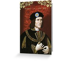 Leicester City - Richard III Greeting Card