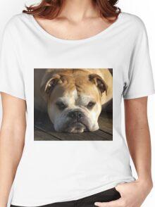 bulldog your best friend Women's Relaxed Fit T-Shirt