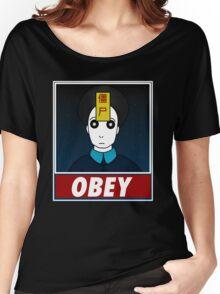 Jiangshi-Obey Women's Relaxed Fit T-Shirt