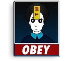 Jiangshi-Obey Canvas Print