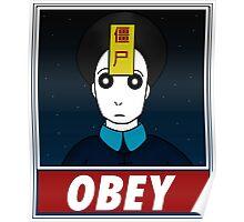 Jiangshi-Obey Poster