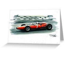 1964  Ferrari 158 F1 Greeting Card